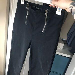 Lip Service Cult Zipper Skinny Jeans